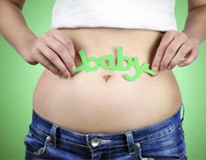barriga primeiro mes de gravidez